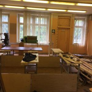 Строительно-ремонтные работы в ГБОУ Школа № 1505