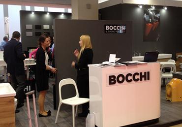 Застройка выставочного стенда итальянского производителя сантехники BOCCHI