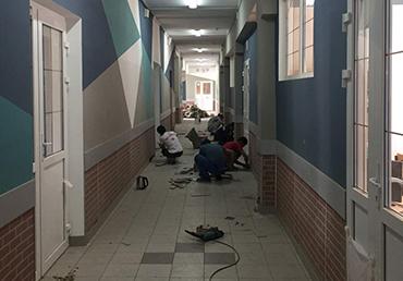 ГБОУ школа1205 текущий ремонт