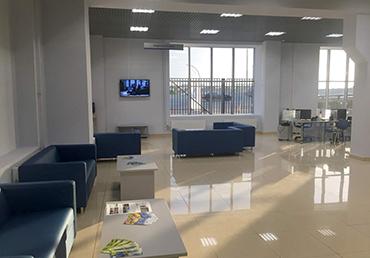 Комплексная реконструкция и ремонт нового офиса ГК «Луидоp»