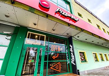 Техническое обслуживание сети пиццерий Pizza Hut в Москве