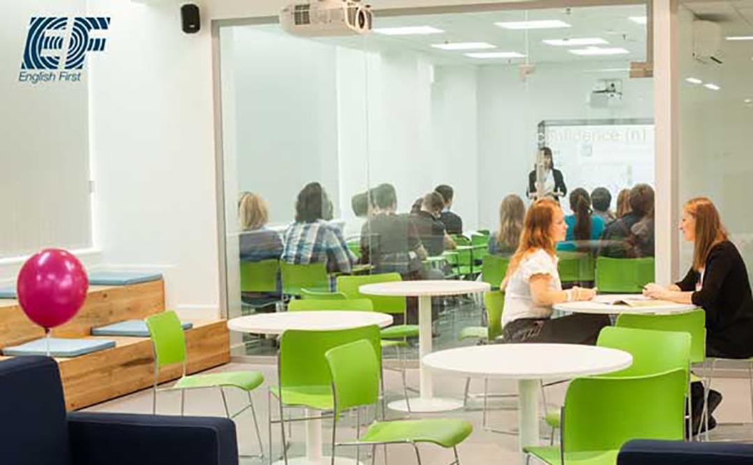 Комплексный ремонт Школы English First в Санкт-Петербурге