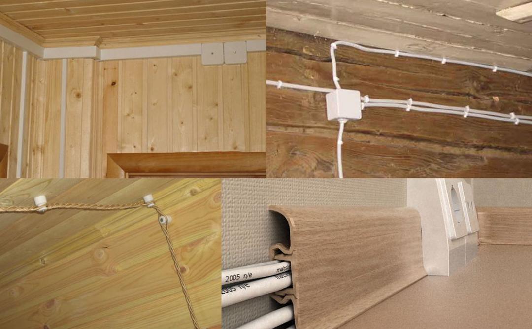 Этапы установки электрики в каркасном доме