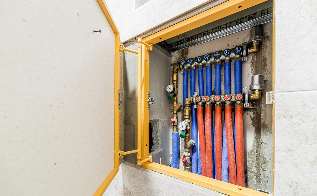 Разводка водоснабжения и отопления по квартире