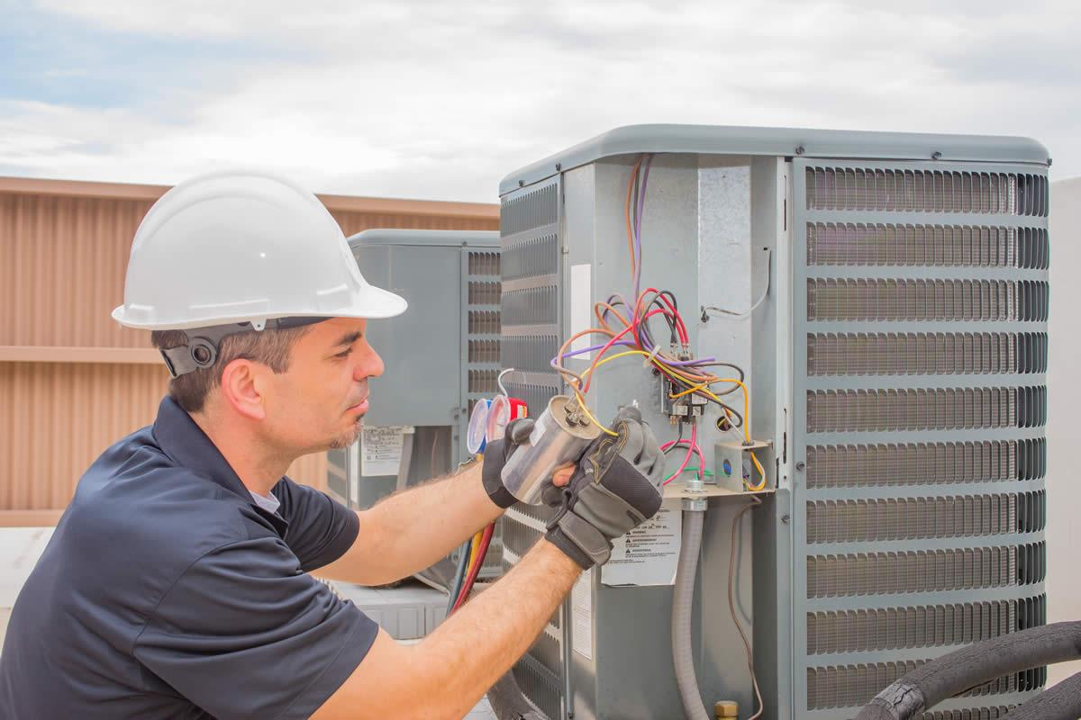 Услуги обслуживание систем вентиляции и кондиционирования в зданиях